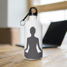 Lade das Bild in den Galerie-Viewer, Sukhasana  Stainless Steel Water Bottle