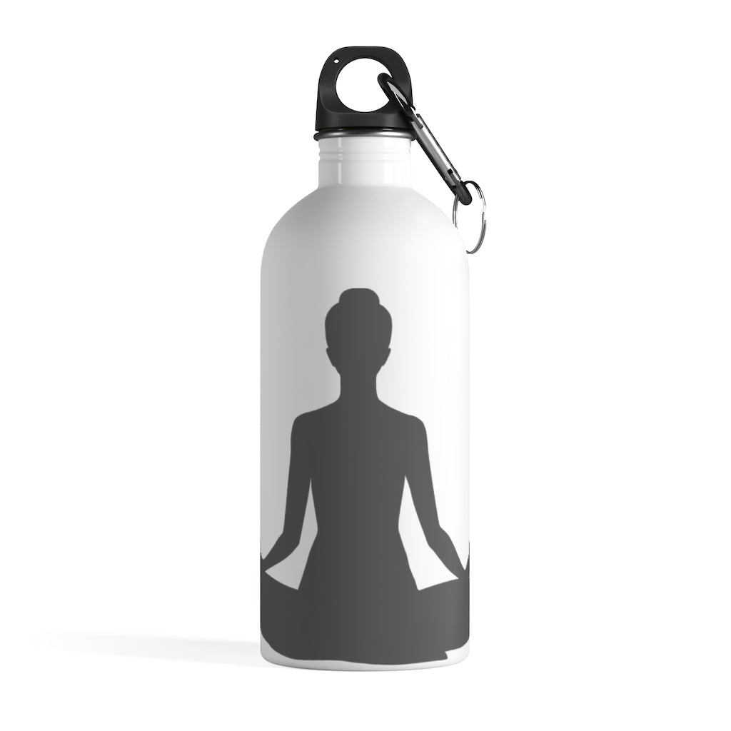 Sukhasana  Stainless Steel Water Bottle