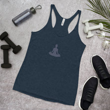 Load image into Gallery viewer, Sukhasana Racerback Tank (Navy)