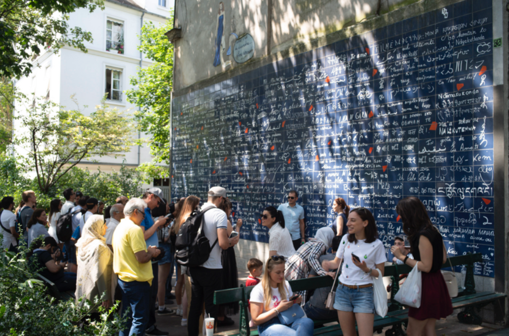 The I Love You Wall, Paris