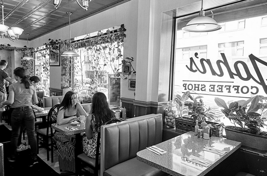 Disappearing NYC Diners + Coffeeshops