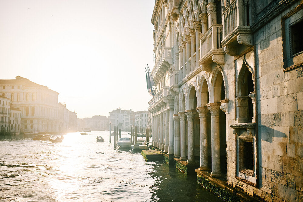 Venice Canal Late Afternoon, Italy