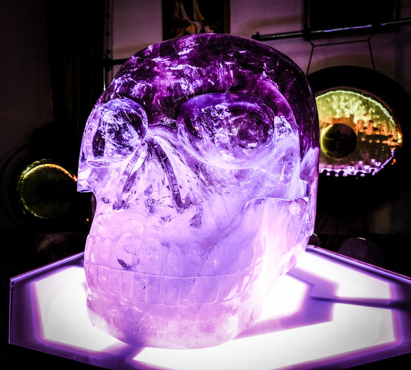 Akator : the world's largest crystal skull