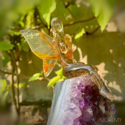 Smokey Quartz Fairy