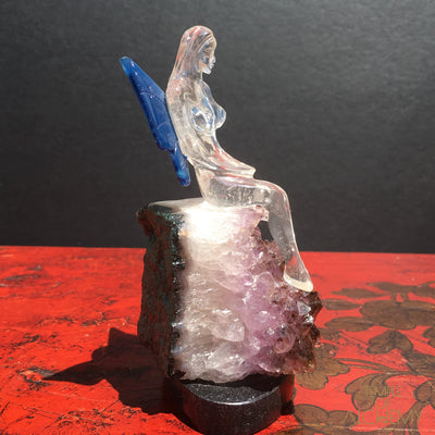 Clear Quartz Fairy
