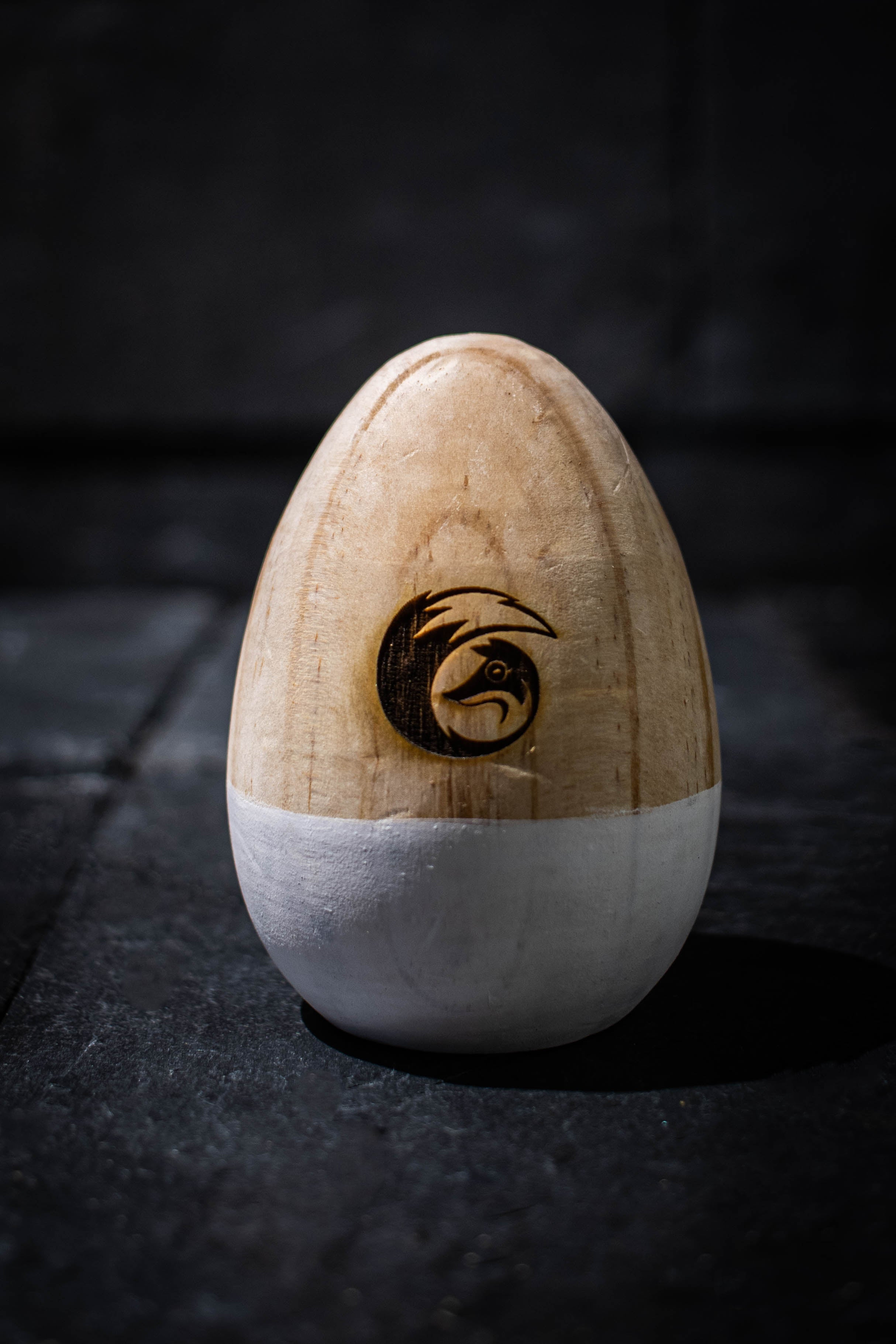Birch Decorative Wooden Egg
