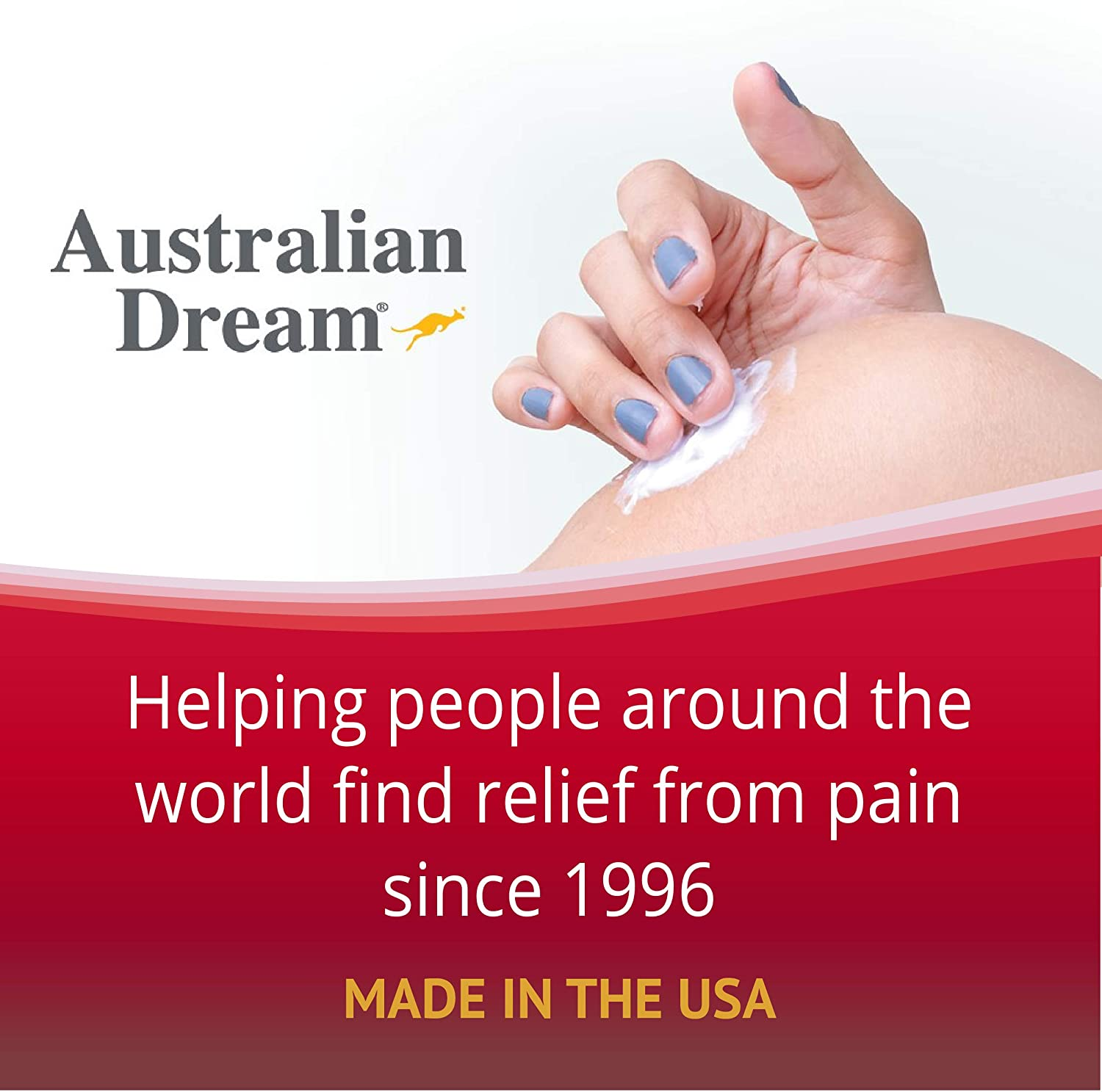Australian Dream Arthritis Pain Relief Cream 2 oz Tube