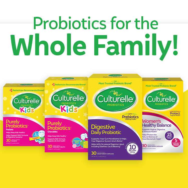 Culturelle Digestive Health Daily Formula Probiotic 30 count