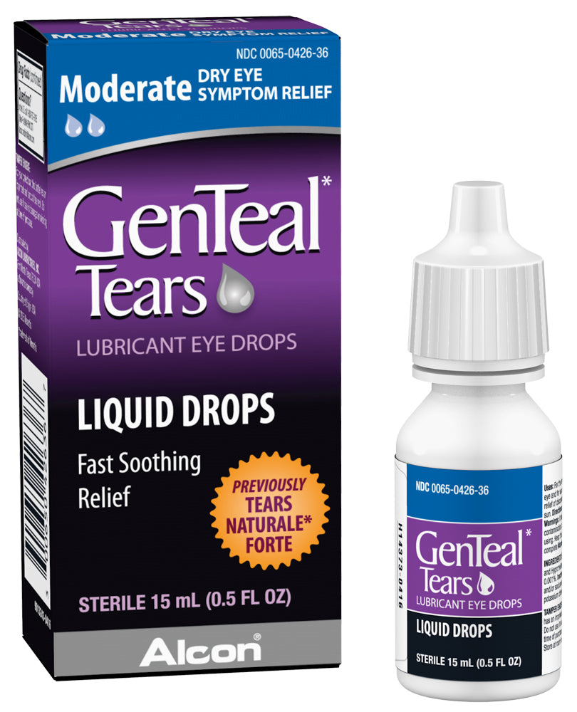 GenTeal Lubricant Eye Drops Moderate - 0.5 fl oz