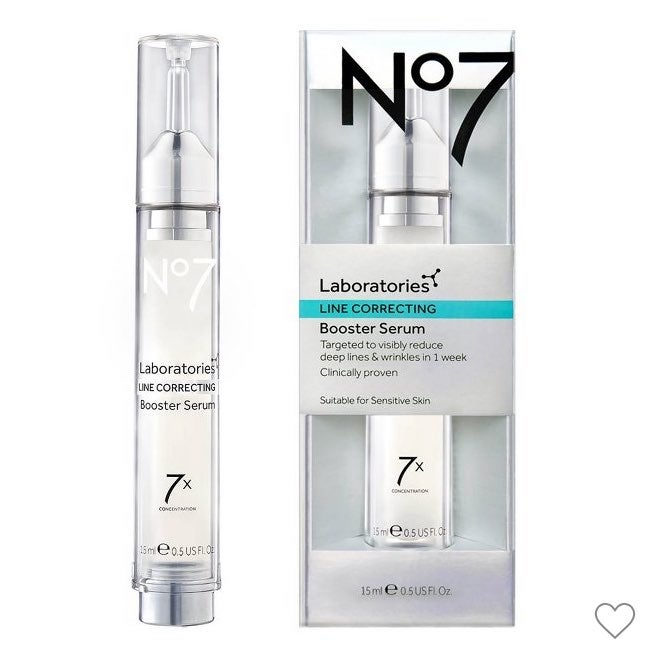 No 7 Laboratories Line Correcting Booster Serum 0.5 fl oz/ 15 mL