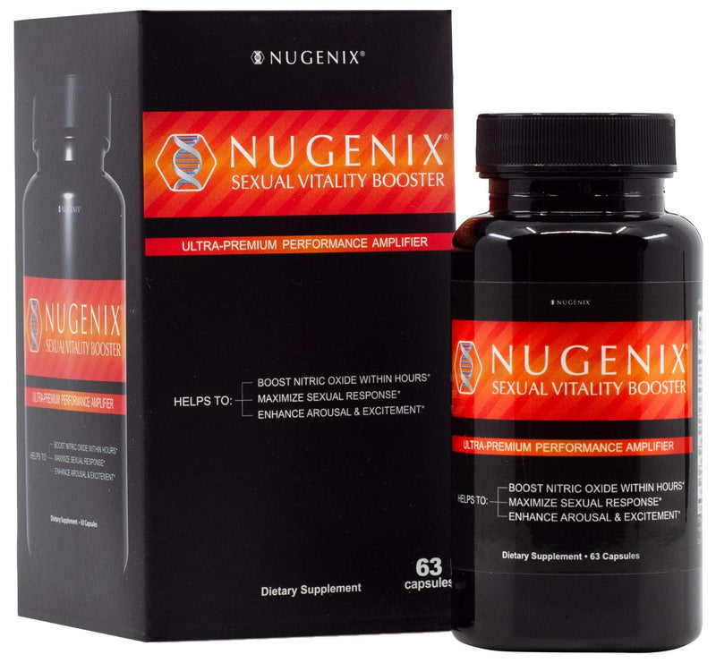 Nugenix Sexual Vitality Booster, 63 Capsules