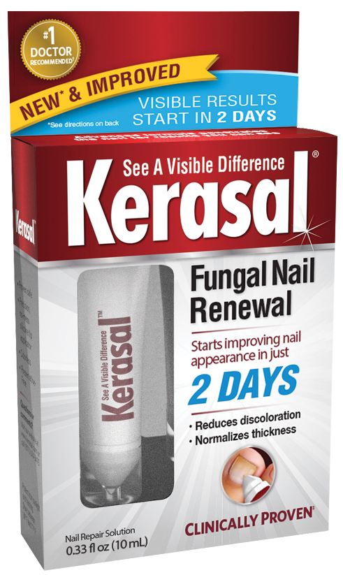 Kerasal Fungal Nail Renewal Treatment,Restores