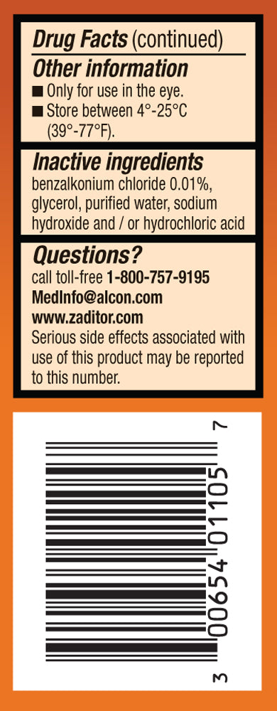 Zaditor(R) Eye Itch Relief Antihistamine 5ml