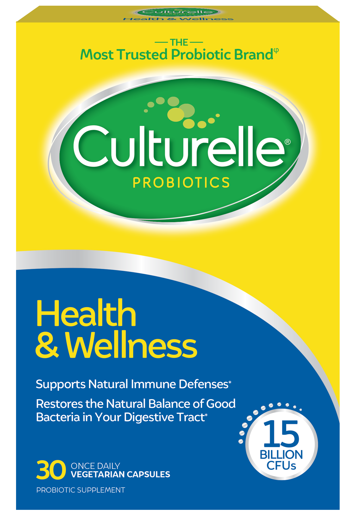 CULTURELLE PRO-WELL HEALTH & WELLNESS 30 CT
