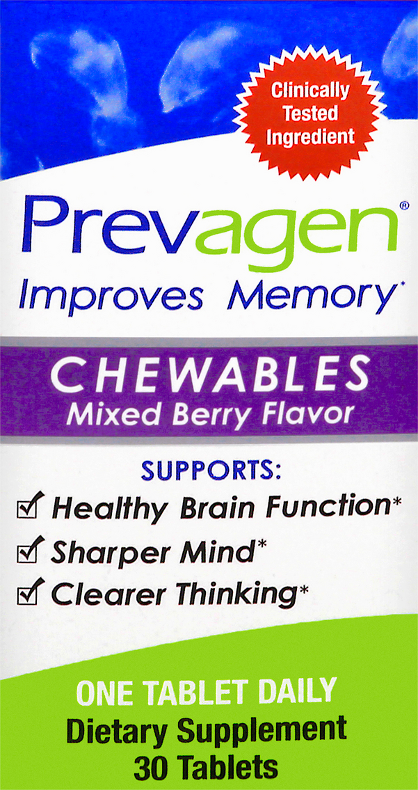 Prevagene Chewables Mixed Berry Flavor  30 ea