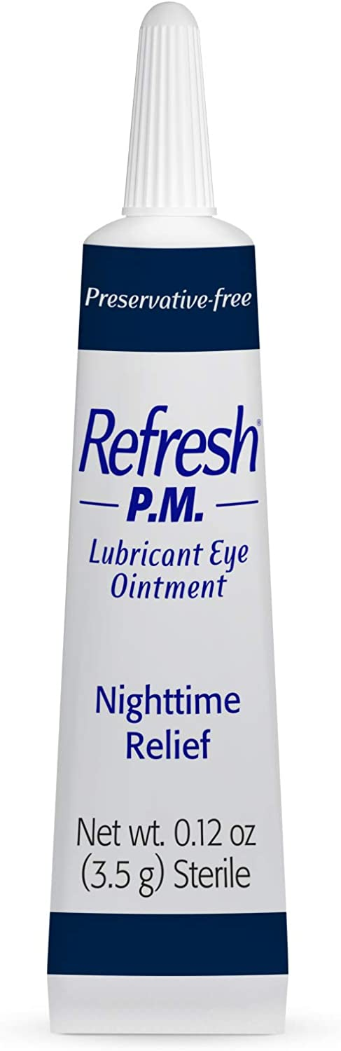 Refresh PM Lubricant Eye Ointment 3.50 g, 3 count