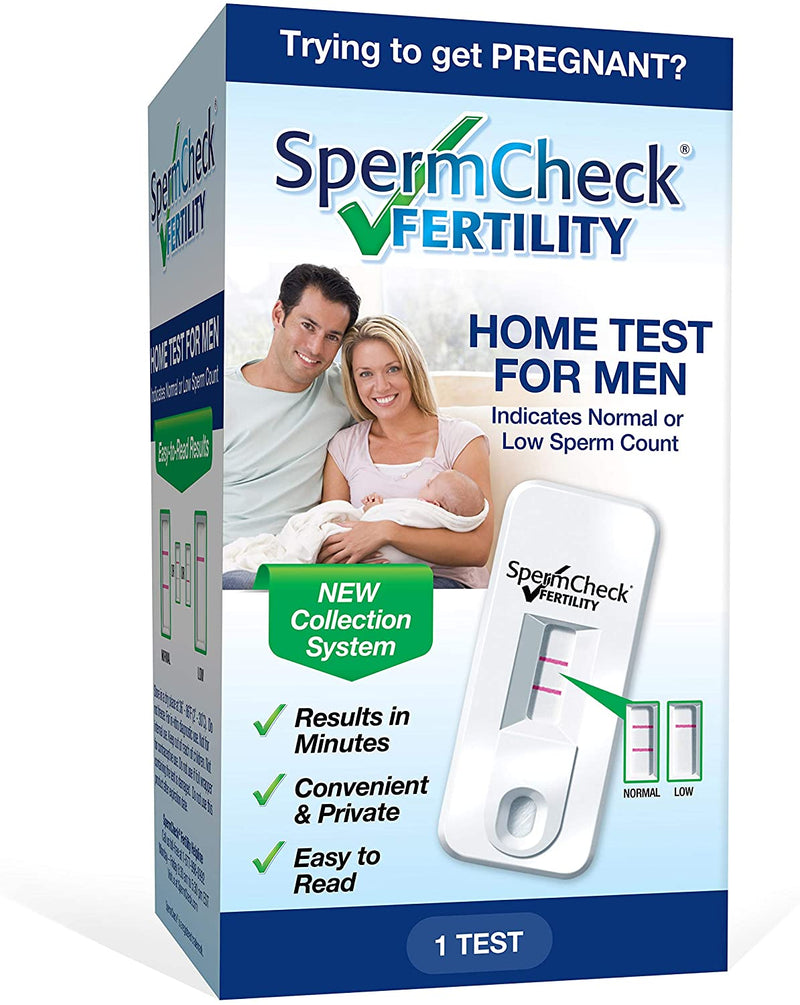 Spermcheck Fertility Home Test for Men