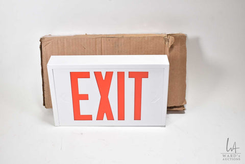AimLite Steel Exit Sign