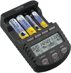 Alpha Power Battery Charger - BC1000 - Works with AA/AAA