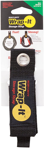 Wrap-It Storage 100-20B Straps, Medium, Black