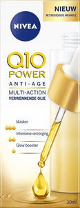 Nivea V Pampering Oil Q10 Power Anti-Rimpel Extra Nourishing