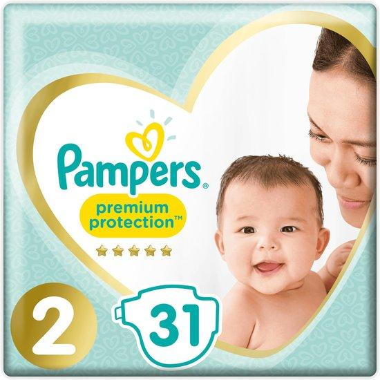 Pampers Premium Protection New Baby 2 Carry Pack