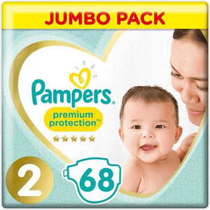 Pampers Premium Protection Mini S2 4-8Kg Jumbo Pack