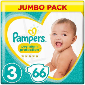 Pampers Premium Protection Midi S3 6-10Kg Jumbo Pack