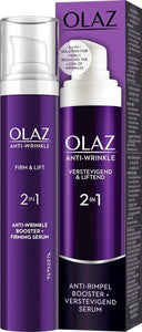 Oil Olaz Antiwrinkle Dagcreme+Serum Verev.&Lift 2In1