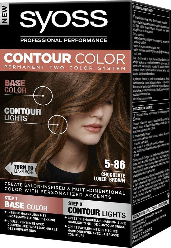 Syoss Contour Color 5.86 Chocolate Lover Brown