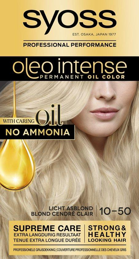 Syoss Color Oleo Int. 10-50 Licht Asblond