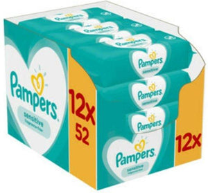 Pampers Babydoekjes Sensitive Doos