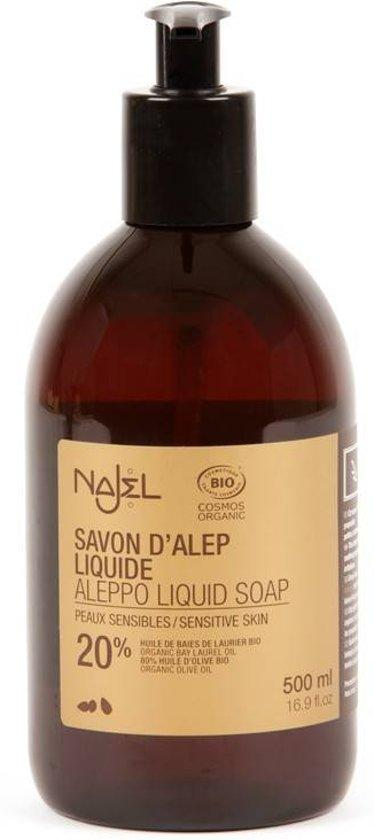 Najel Zeep Liquid Body 500 ml Gev. Huid
