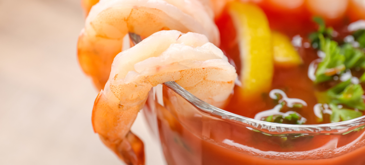 Succulent Shrimp and Spicy Cocktail Sauce