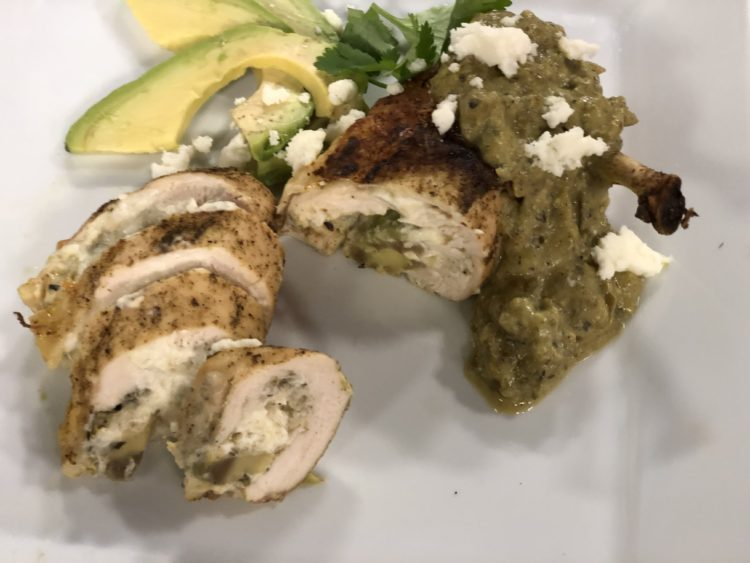 Stuffed Chicken Breasts with Southwest Slather