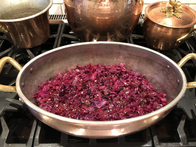 Braised Red Cabbage with Boiled Cider