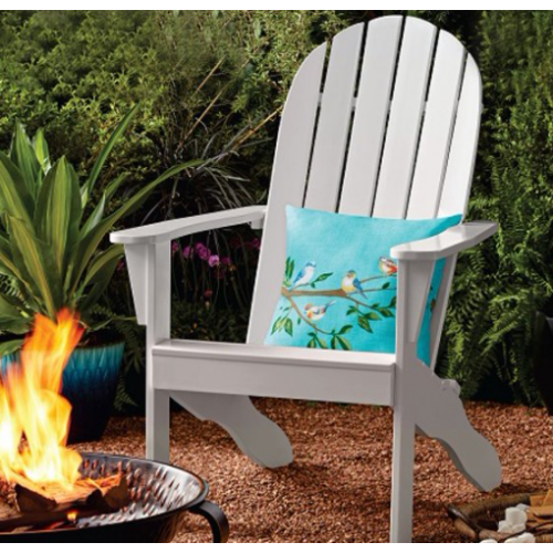 Wood Outdoor Adirondack Chair