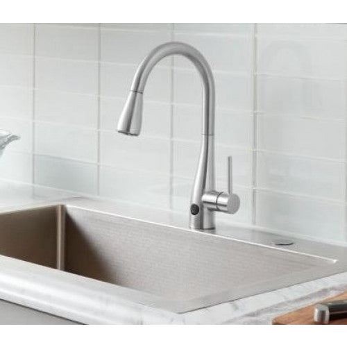 Glacier Bay Touchless Pull Down Kitchen Faucet Stylesforless