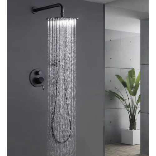 Wall-Mounted Rainfall Shower System