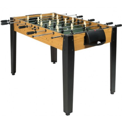 "Gymax 48"" Competition Sized Wooden Soccer Foosball Table"