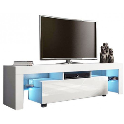LED High Gloss TV Stand