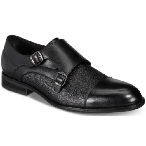 Alfani Men's Double Monk Cap-Toe Loafers