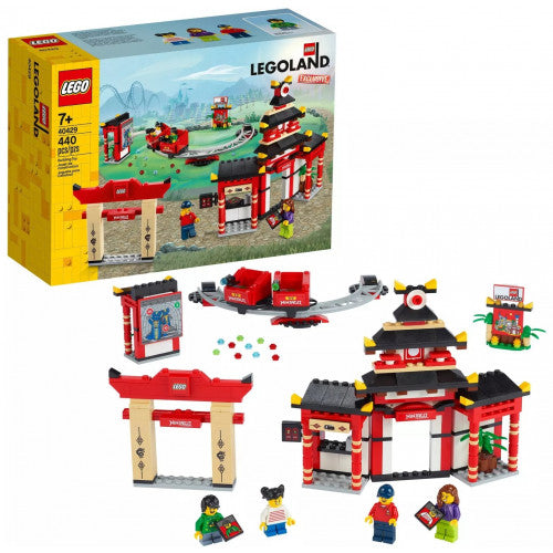 435-Piece Legoland Fire Academy Building Kit