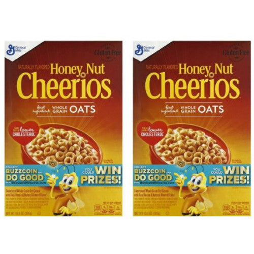 2-Pack Cheerios 10.8oz Honey Nut Cereal