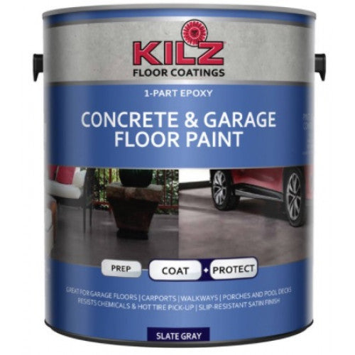 1Gl. KILZ Epoxy Acrylic Concrete & Garage Floor Paint