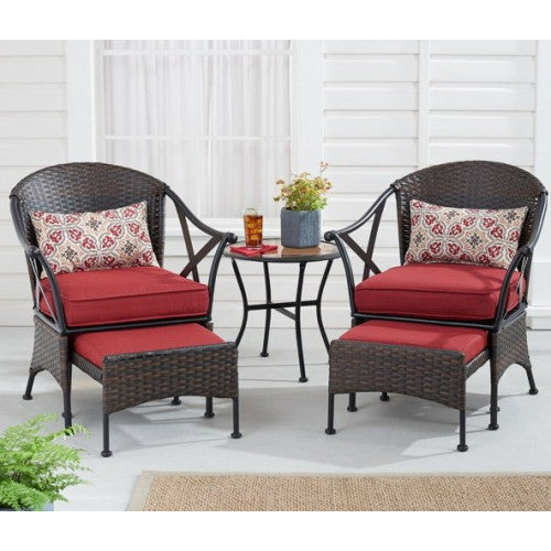 5-Piece Outdoor Chat Set