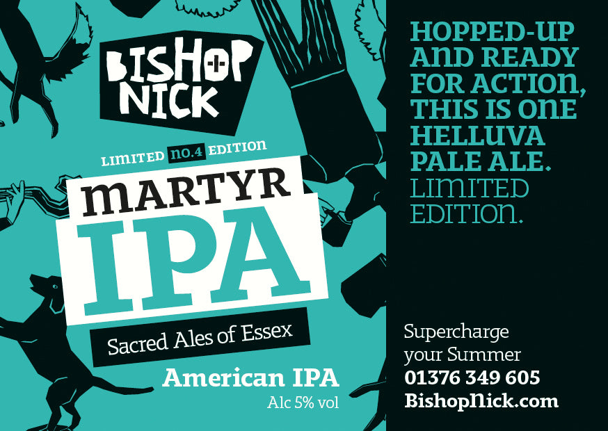 Martyr IPA Advert