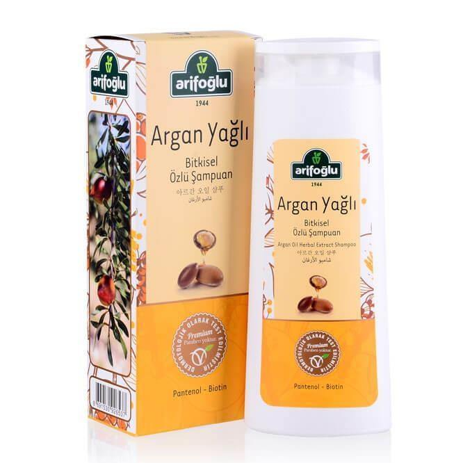 Argan Oil Herbal Extract Shampoo 400ml - Lujain Beauty
