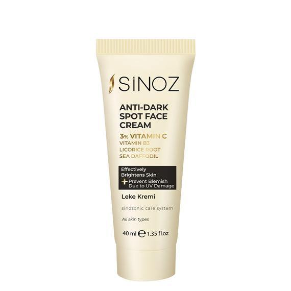 Sinoz Anti Dark Spot Face Cream - Blemish Cream - Lujain Beauty