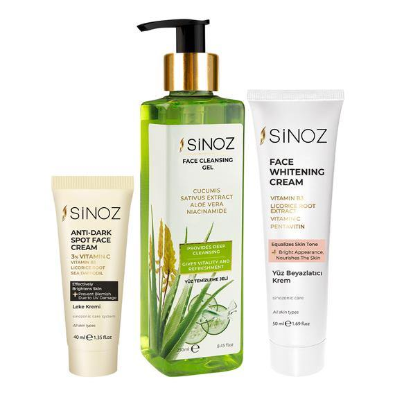 Sinoz Spotless Skin Pack - Lujain Beauty